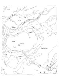 Ansichtkaart vaargeul pentekening A6