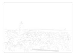 Ansichtkaart West-Terschelling A6 10 stuks (€7,52 ex btw)