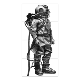 Tauger (duiker) 8 stickers