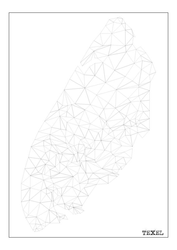 Ansichtkaart Texel A6