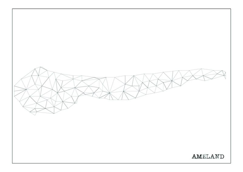 Ansichtkaart Ameland A6