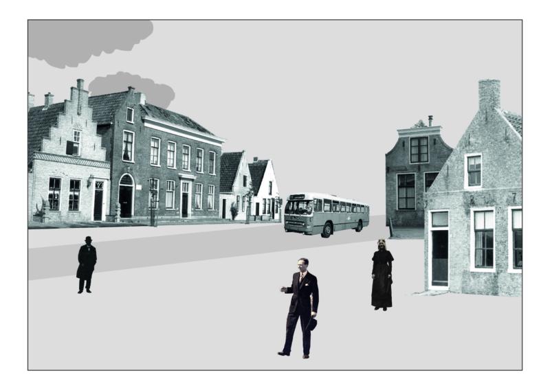 Ansichtkaart molenstraat A6