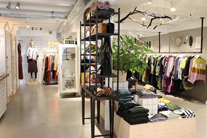Fraai kledingwinkel