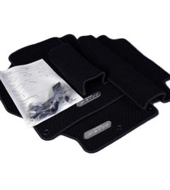 Luxe mattenset zwart (Rhd)