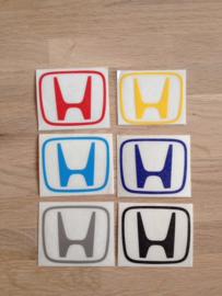Centercap velg stickers (5 stuks)
