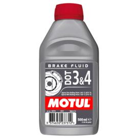 Motul DOT 3 & 4 Remvloeistof / koppelingsvloeistof 500ml