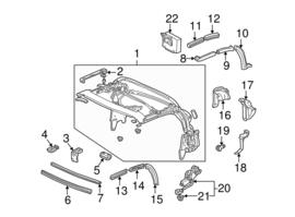 Softtop motor elektrisch (99-09)