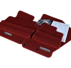 Luxe mattenset - rood (Lhd)