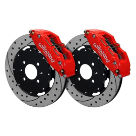 WILWOOD FORGED SUPERLITE-6R 325MM 6-POT BIG BRAKE KIT ROOD (S2000 99-09)
