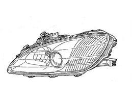 Koplamp pre-facelift (99-03)