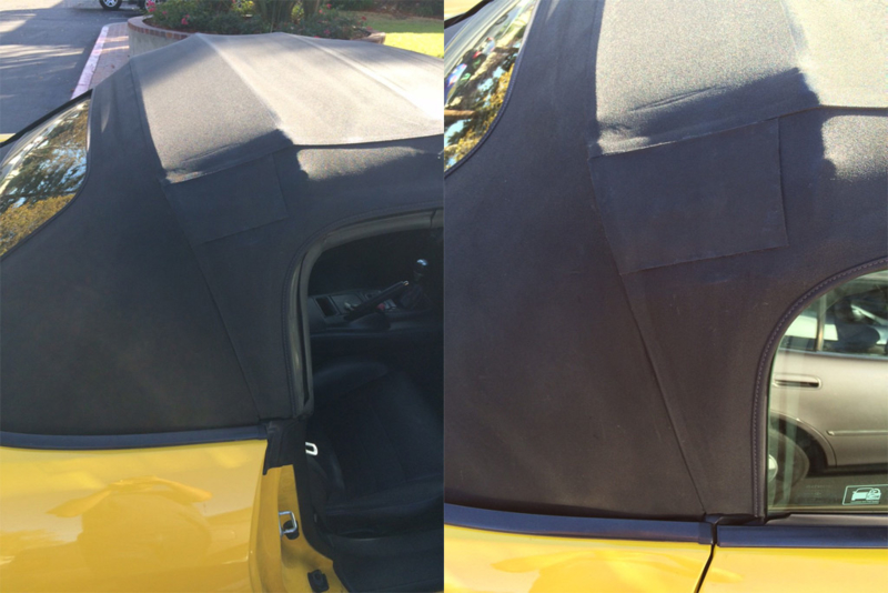 Softtop patch 300x300mm