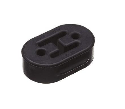 Uitlaat ophang rubber (voor)
