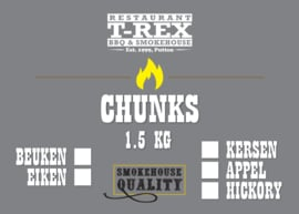 T-Rex Rookhout Chunks Hickory