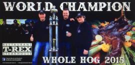 World Champion Whole Hog