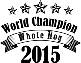 World Champion Whole Hog