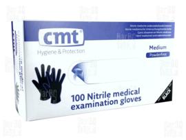 Disposable Nitrile handschoen Poedervrij (Blauw/wit!)