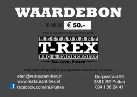 T-Rex Waardebon
