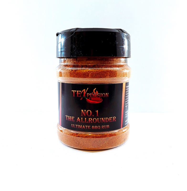 TEXplosion No.1 The Allrounder BBQ Rub