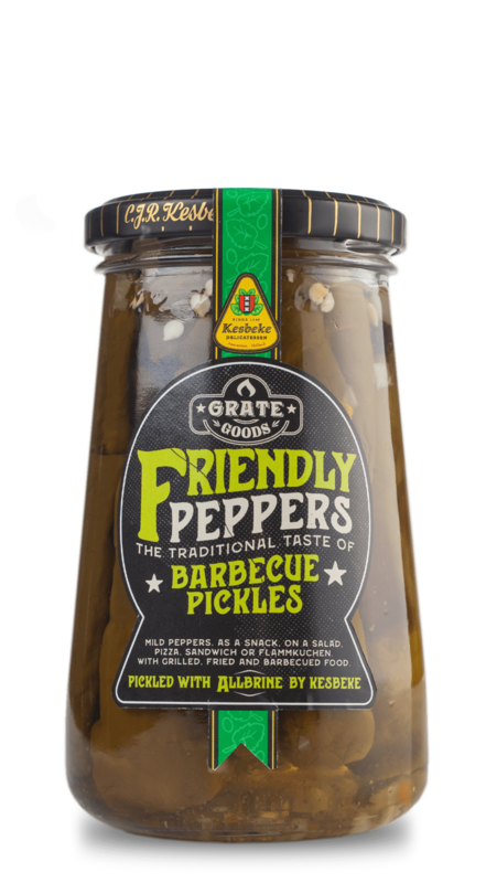 Grate Goods Friendly Peppers