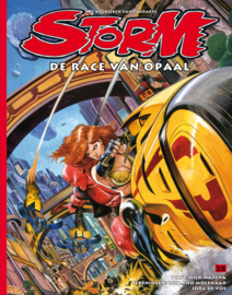 Storm 28 • The race of Opale city | softcover - DUTCH