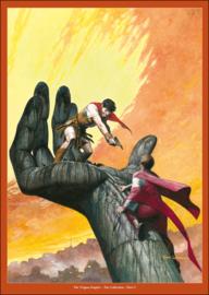 """Het keizerrijk Trigië • artprint """"Strijd om de macht"""""""