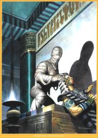 """Het keizerrijk Trigië • artprint """"De vloek van de mummie"""""""