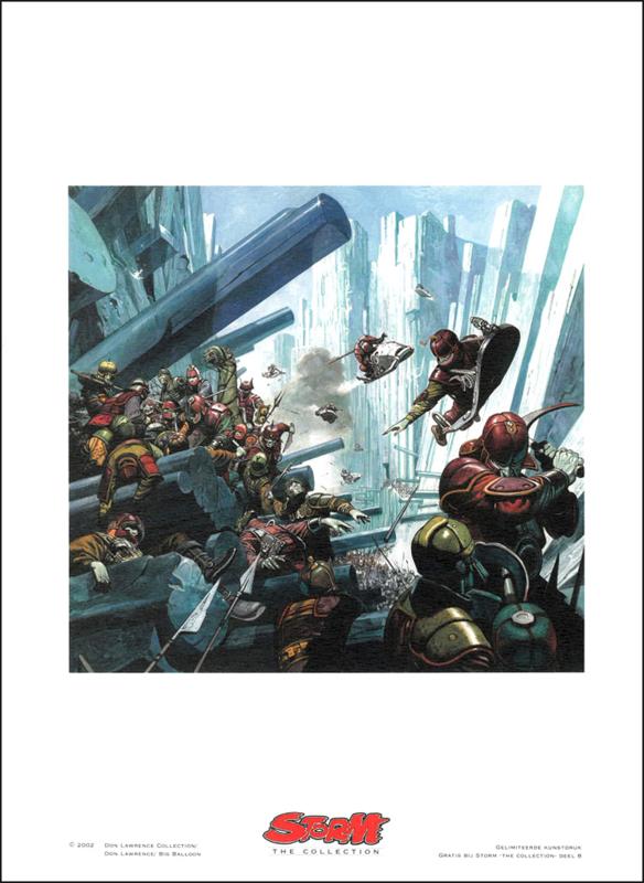"""Artprint 8 • Vandaahl de Verderver - """"De Laatste Strijd"""""""