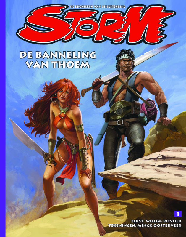 Storm 01 • The expatriate of Thoem | hardcover - DUTCH