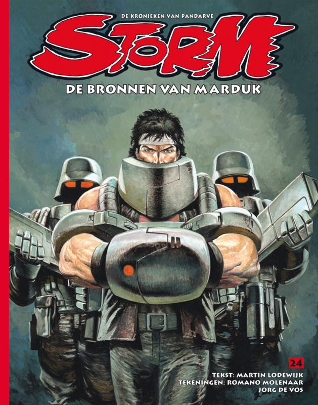 Storm 24 • De bronnen van Marduk | softcover
