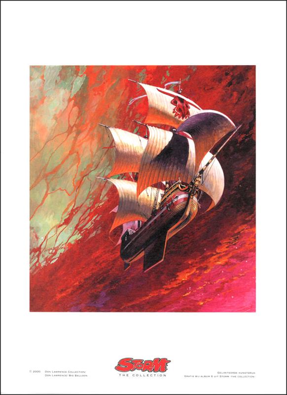 """Artprint 6 • Het Doolhof van de Dood - """"Met Bolle Zeilen"""""""