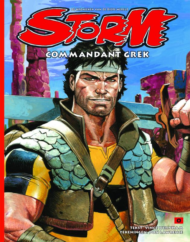 Storm 00 • Commander Grek | hardcover - DUTCH