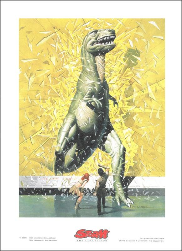 """Artprint 4 • De legende van Yggdrasil - """"De vangst van Wagnar"""""""