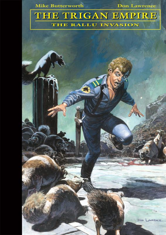 Trigan Empire -the collection- volume 7 • The Rallu Invasion (ENGLISH)