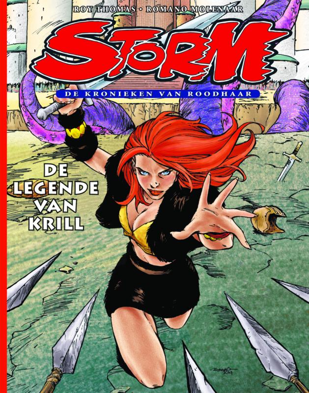 Roodhaar 01 • De legende van Krill   hardcover