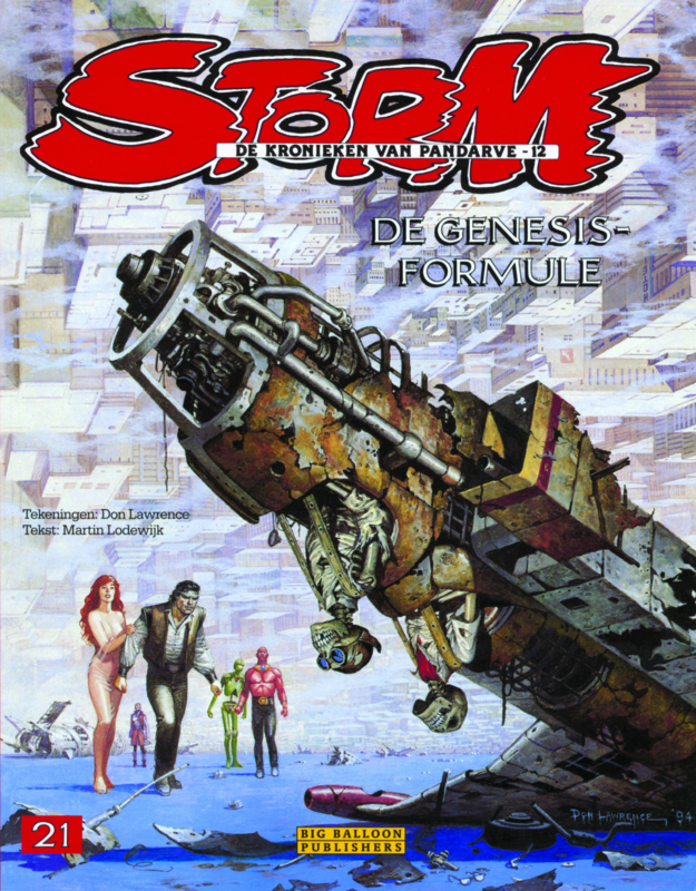 Storm 21 • The Genesis equation | hardcover - DUTCH