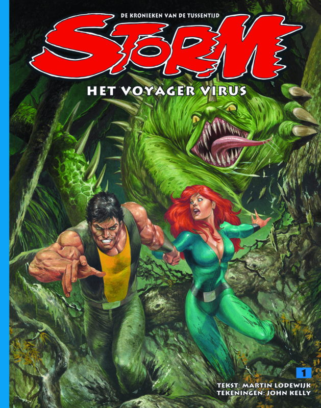 Storm 01 • The Voyager Virus | softcover - DUTCH