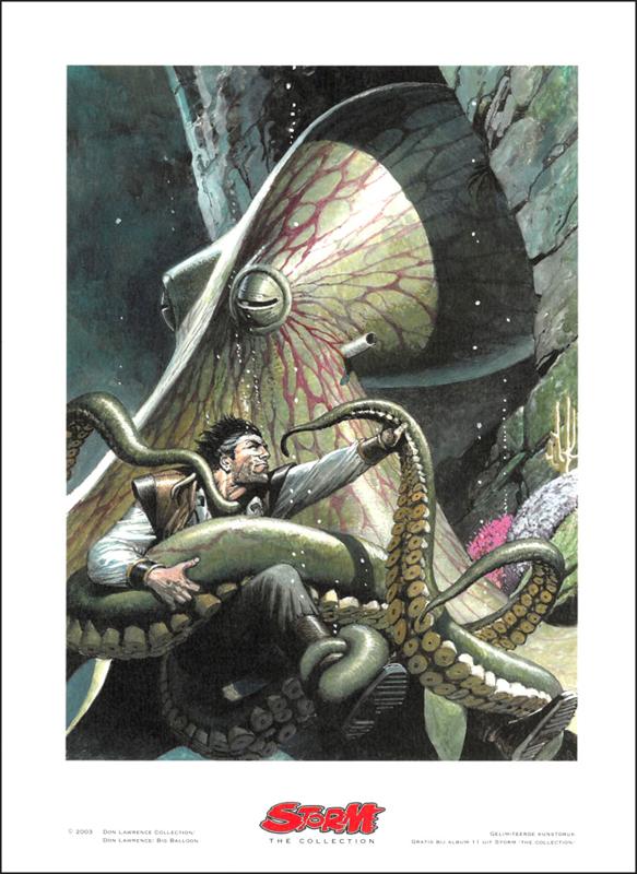 "Artprint 11 • De Genesis-Formule - ""Squid Nunc"""