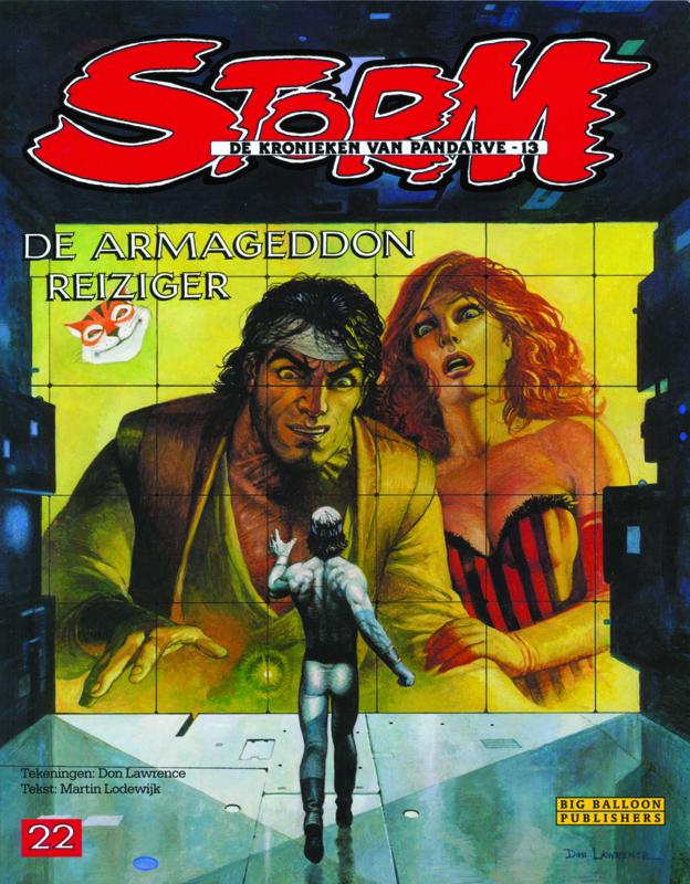 Storm 22 • De Armageddon reiziger | hardcover
