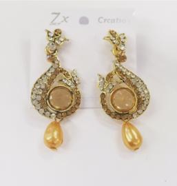 Fashion oorbellen goud