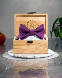 Vlinderdas Classic Royal Light Purple