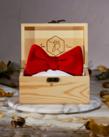 Bow Tie Royal Velvet Red