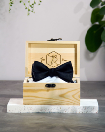 Bow Tie Classic Royal Black