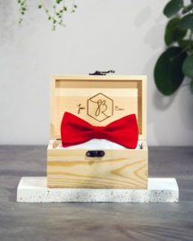 Bow Tie Classic Royal Red