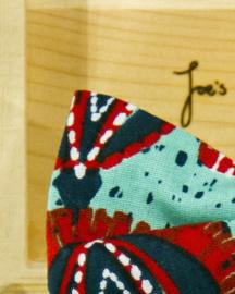 Vlinderdas African Blues
