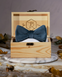 Bow Tie Royal Velvet Green