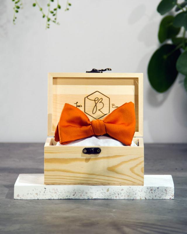 Vlinderdas Classic Royal Pumpkin