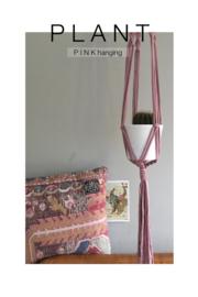 P I N K  hanging