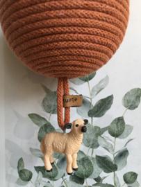 Groot Terracotta met Lammetje