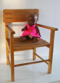 Vintage houten stoeltje