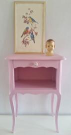 Romantisch roze kastje